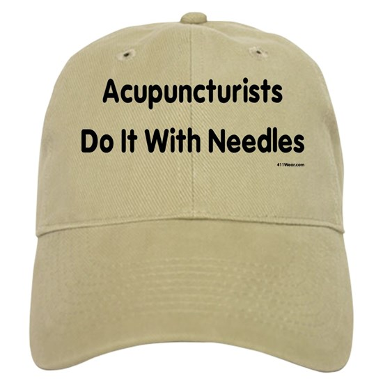 Acupuncturists Do It With Needles_black