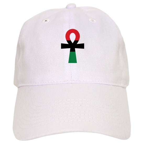 Red, Black & Green Ankh