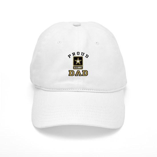 7049f68c1f765 Proud U.S. Army Dad Cap by magarmor - CafePress
