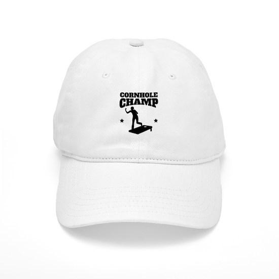 5c1d86ba4b73 Cornhole Champ Baseball Cap by AwesomeDesigns - CafePress