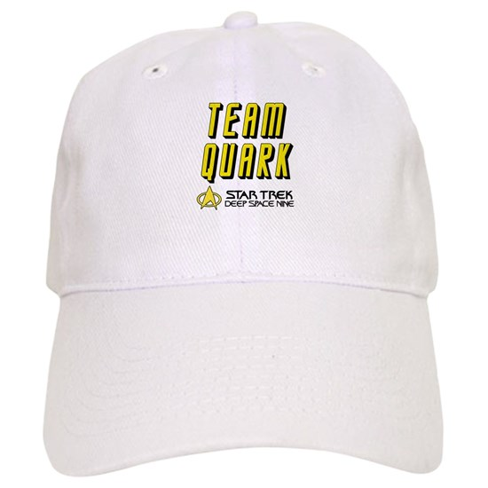 9e30d47bae Team Quark Star Trek Deep Space Nine Cap by Banana_Girl - CafePress
