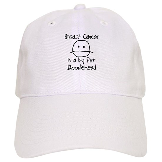 47d3de97 Breast Cancer is a Big Fat Doodiehead Cap by New Generation Clothing ...