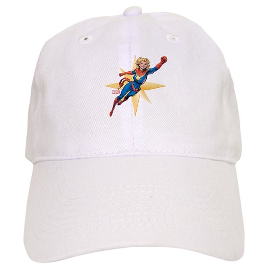 13cbc1fffc8171 Captain Marvel Flying Cap by Marvel - CafePress
