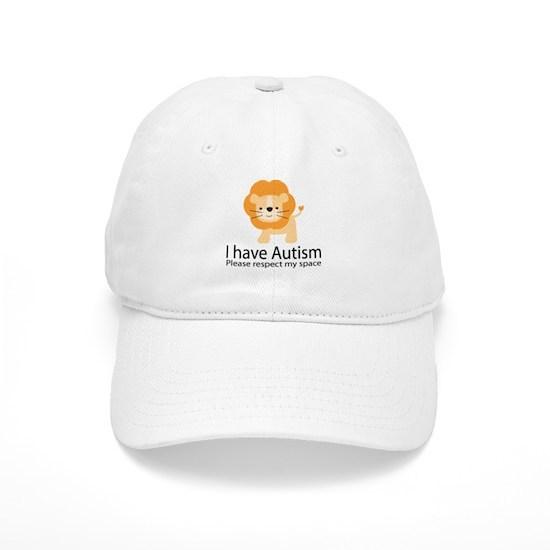 5eeac9fe I Have Autism Lion Cap by HomewiseShopper - CafePress