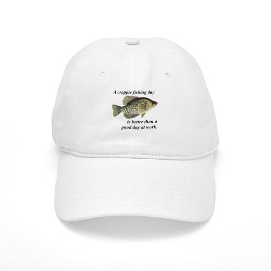 31e8447c5ea4d Crappie Fishing Day Baseball Cap by Lysmata Publishing - CafePress