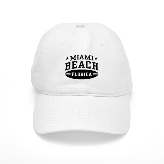8c75c7cb67d Miami Beach Florida Cap by magarmor - CafePress