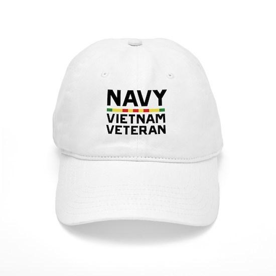 3c5e7c85 U.S. Navy Vietnam Veteran Cap by USNAVYfan - CafePress