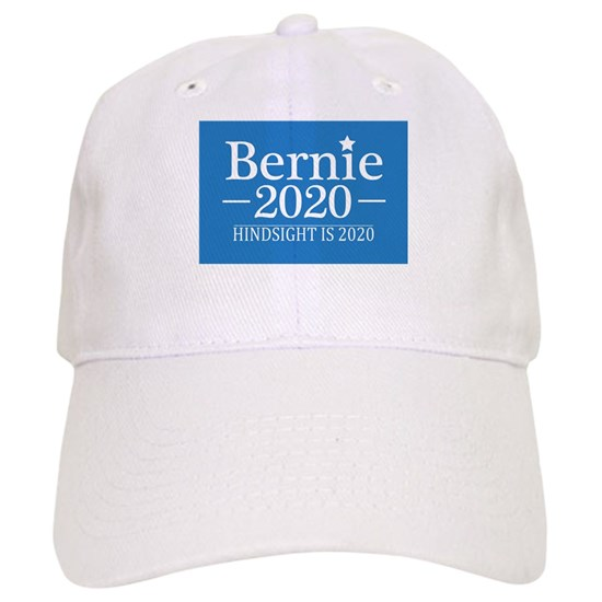 1a4d147796790 Bernie Sanders Hindsight is 2020 Cap by 44LifeApparel - CafePress