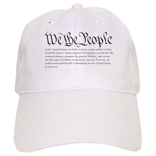 64514b55 U.S. Constitution Cap by RightWingUSA.com - CafePress