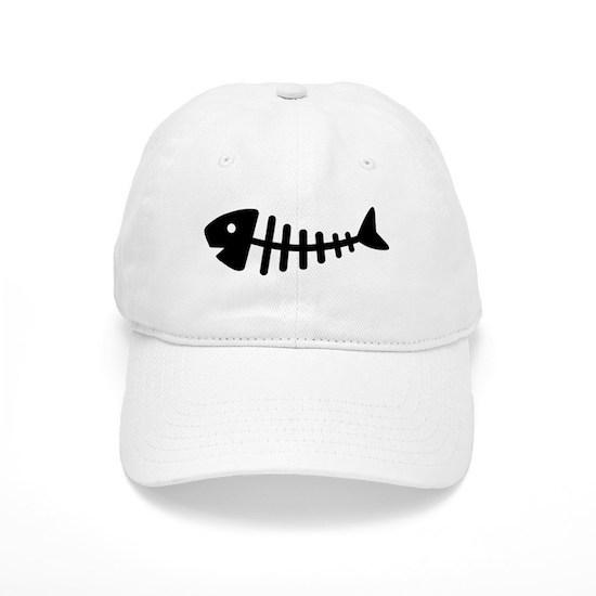 3eaced2b Fishbone Cap by Deluxestore - CafePress