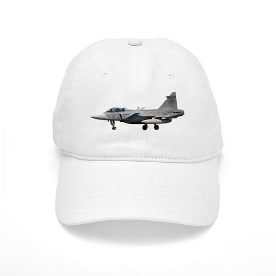 ad115f034c261 SAAB JAS 39 Gripen 2 Baseball Cap by boogeyman - CafePress