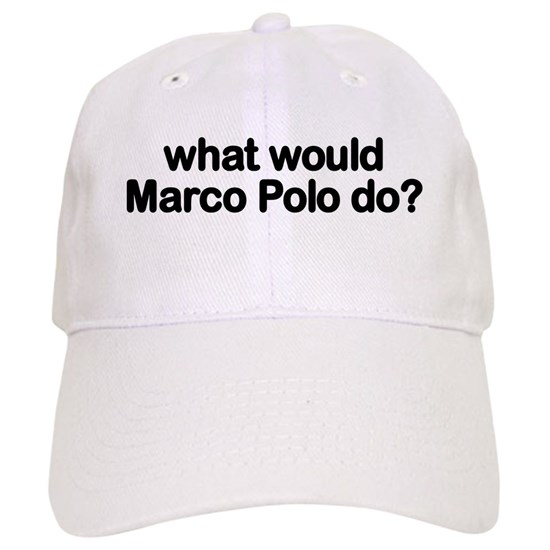 marco polo cap by reely cafepress. Black Bedroom Furniture Sets. Home Design Ideas
