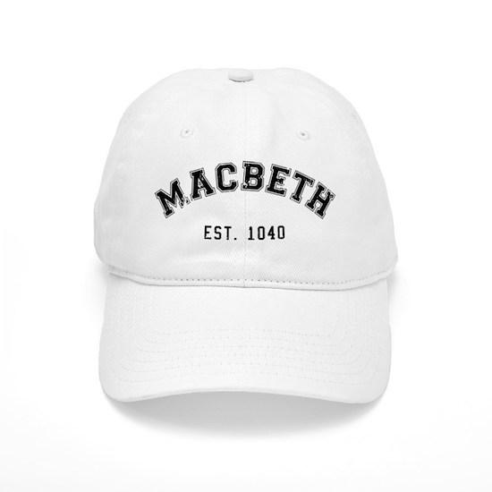 b544d3488 Retro Macbeth Baseball Cap