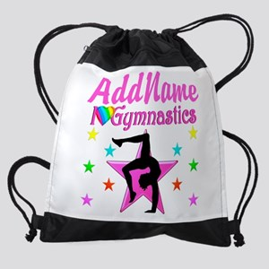GYMNAST GIRL Drawstring Bag