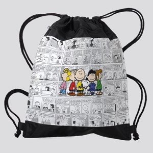 The Peanuts Gang Drawstring Bag