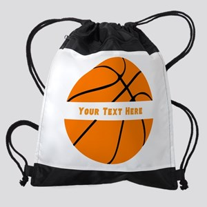 Basketball Personalized Drawstring Bag