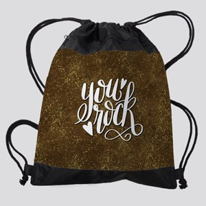 YOU ROCK Drawstring Bag