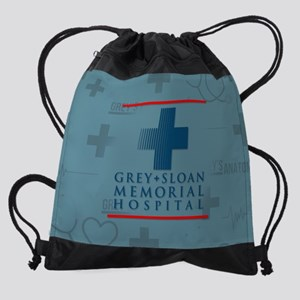 Grey Sloan Hospital Drawstring Bag