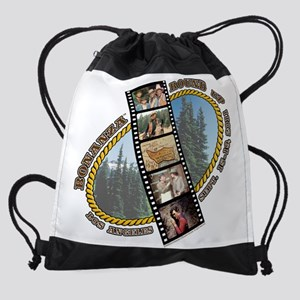 1 logo large use Drawstring Bag