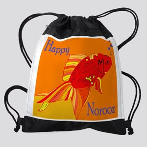 GoldfishNorooz Drawstring Bag