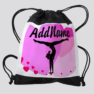 GYMNAST SUPER STAR Drawstring Bag