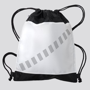 Logo_Final_white_on_black Drawstring Bag