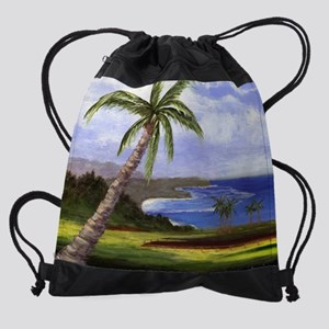Beautiful Kauai Drawstring Bag