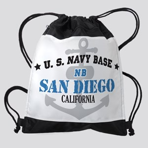 CA San Diego 1 Drawstring Bag