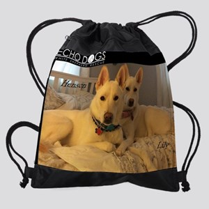 2017 Echo Dogs Calendar H Drawstring Bag