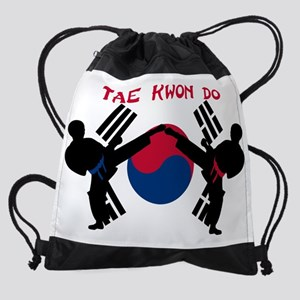 Tae Kwon Do Drawstring Bag