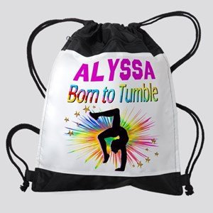GYMNAST DREAMS Drawstring Bag