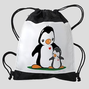Mom & Baby Drawstring Bag