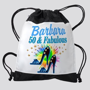 STUNNING 50TH Drawstring Bag