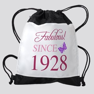 1928 Fabulous Birthday Drawstring Bag