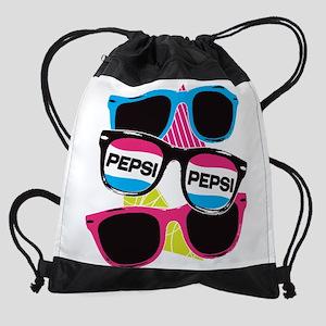 Pepsi Glasses Drawstring Bag