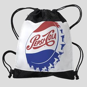 Pepsi Bottle Cap Drawstring Bag
