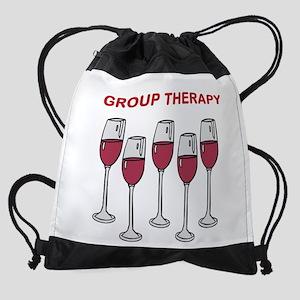 GROUP THERAPY Drawstring Bag