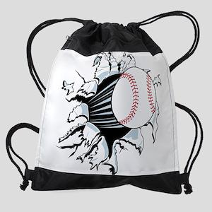 Breakthrough Baseball Drawstring Bag