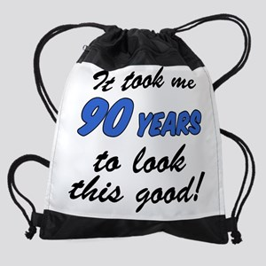 Took Me 90 Years Drinkware Drawstring Bag