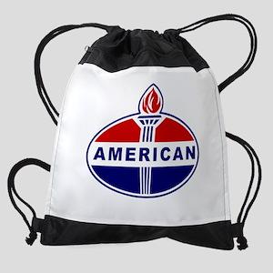 American Oil Drawstring Bag
