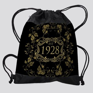 1928 Birth Year Drawstring Bag
