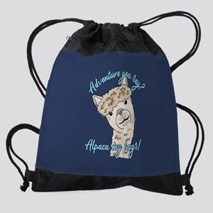 alpaca my Drawstring Bag