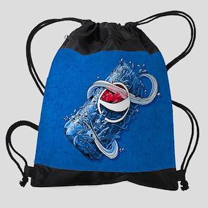 Pepsi Can Doodle Drawstring Bag
