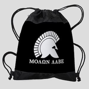 Molon Labe Drawstring Bag