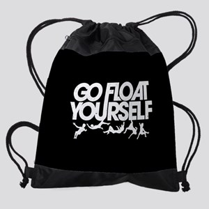 The 100 Go Float Yourself Drawstring Bag