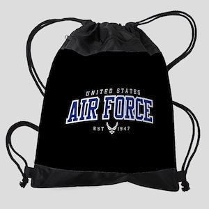 United States Air Force Athletic Drawstring Bag