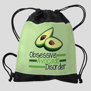 Obsessive Avocado Disorder Drawstring Bag