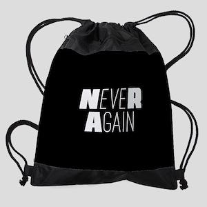NeveR Again Drawstring Bag