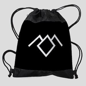 Twin Peaks Owl Cave Symbol Drawstring Bag
