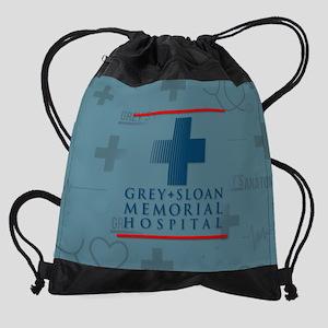 Grey Sloan Hospital Drawstring Bag